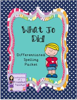What Jo Did Differentiated Spelling (Scott Foresman Readin