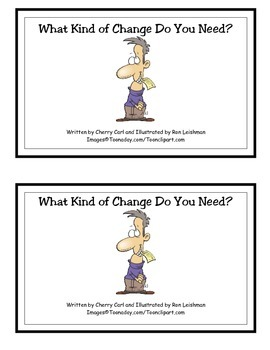 What Kind of Change Do You Need? Guided Reader for Math