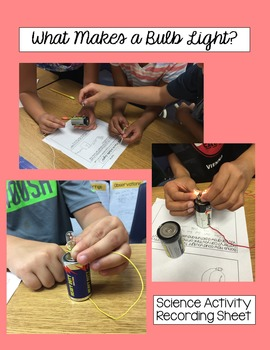What Makes a Bulb Light? Science Activity