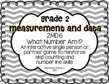 What Number Am I? {Number Lines and Skip Counting}
