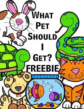 What Pet Should I Get? Freebie