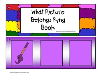 What Picture Belongs Ring Book