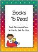 What Should I Read Next?  A Portfolio of Book Reviews Writ