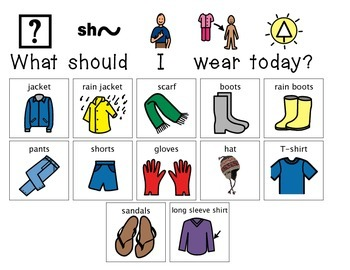 """What Should I Wear Today?"" Daily Activity"
