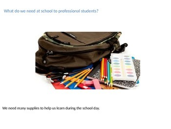 What Supplies Students Need