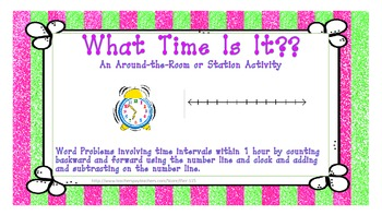 What Time Is It? An Around-the-Room or Station Activity