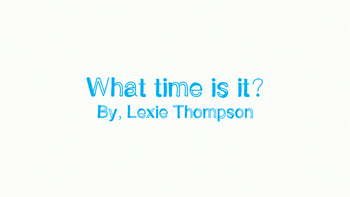 What Time Is It? Time Telling Worksheets!