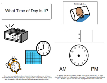 What Time of Day Book