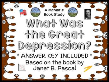 What Was the Great Depression? (Janet B. Pascal) Book Stud