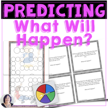 What Will Happen? Making Predictions for speech therapy sp