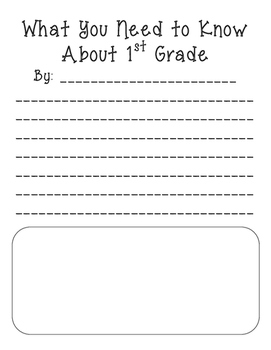 What You Need to Know About 1st Grade