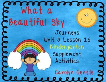 What a Beautiful Sky Journeys Unit 3 Lesson 15 Kindergarte