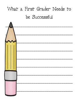 What a First Graders Needs to be Successful
