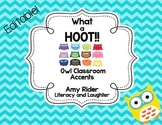 What a HOOT! Owl Classroom Accents {Editable}