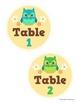 Classroom Organization Set - Owl Theme