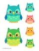 Classroom Decor - Cut Out Decorations - Owl Theme