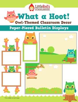 Bulletin Board Display - Classroom Decoration - Paper-Piec