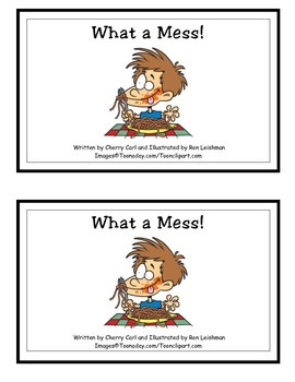 What a Mess! Guided Reader (ess Word Family)