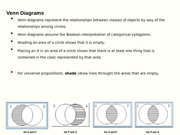 What are Venn Diagrams? (Presentation and Handout)