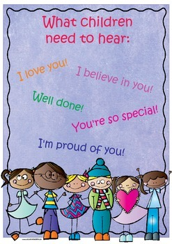 What children  need to hear: