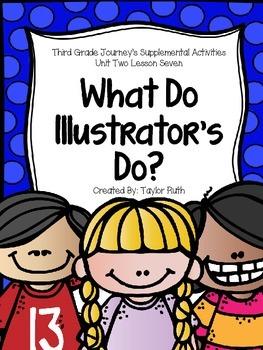 What do Illustrators Do? Journey's Supplemental Activities
