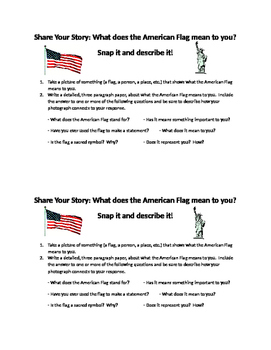 Citizenship and Patriotism: What does the American Flag Me