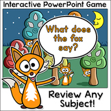 Review Game for any Subject - Smartboard Game - Test Prep