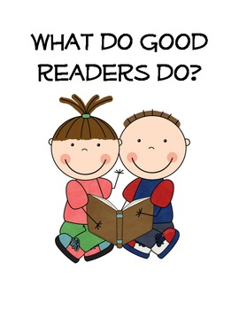 What good readers do - Anchor Chart