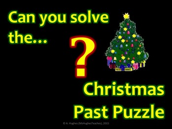 What happened in Christmas Past Puzzle!