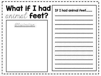 What If I Had Animal Feet?