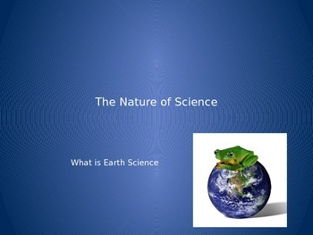 What is Earth Science