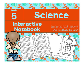 Microorganisms Interactive Notebook-What is Helpful Bacteria?