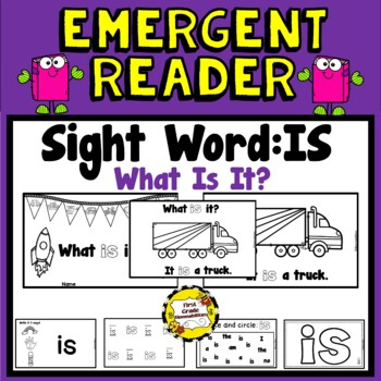 What is It?  (Transportation) Emergent Reader (Sight Word: IS)