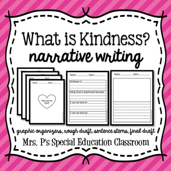 What is Kindness? Narrative Writing