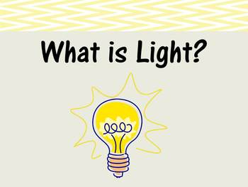 Teaching Students About Light {Lesson and Notes Sheet}