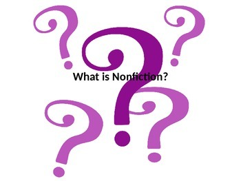 What is Nonfiction PowerPoint