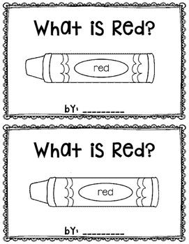 What is Red? reader