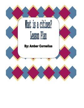 What is a Citizen Lesson {Common Core Aligned}