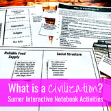 What is a Civilization? Sumerian / Mesopotamian Interactiv