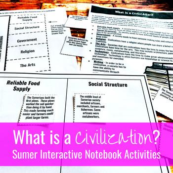 What is a Civilization? Sumerian / Mesopotamian Interactiv