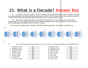What is a Decade? (Focus on Time)