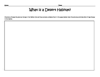 What is a Desert Habitat?