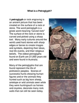 What is a Petroglyph?
