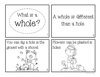 """""""What is a Whole?"""" Fraction Book"""