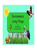 What is an Environment of Living Things?