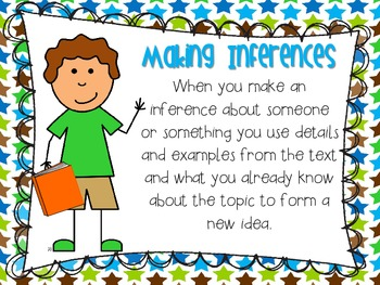 """""""What is an inference"""" mini poster"""