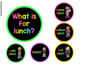 What is for lunch?