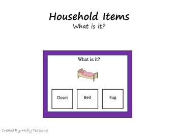 What is it? Household Items