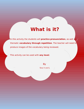 What is it? (Vocabulary review and practice)