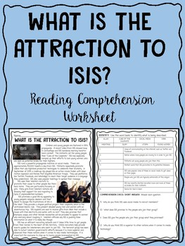 What is the Attraction to ISIS? Reading Comprehension, Ter